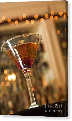 Martini Canvas Print by New  Orleans Food