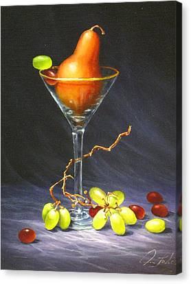 Martini Canvas Print by Sean Taber