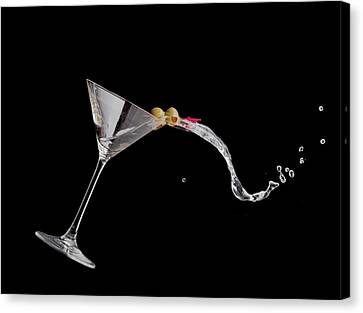 Martini Spill Canvas Print