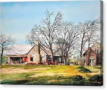 Martin's Homestead Canvas Print