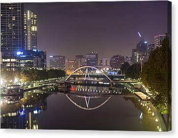 Marvellous Melbourne I Canvas Print by Casey Grant