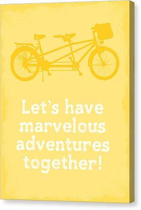 Marvelous Adventures Canvas Print by Nancy Ingersoll