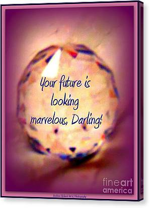 Marvelous Darling Canvas Print by Bobbee Rickard
