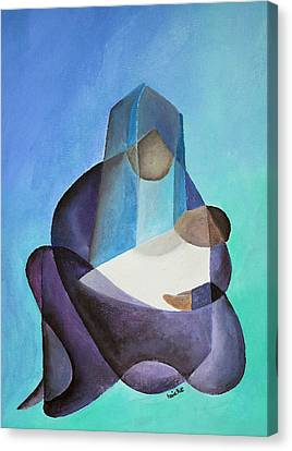 Mary And Messiah Canvas Print