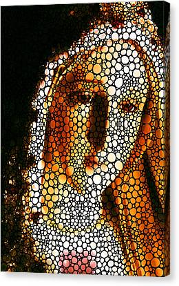 Mary - Holy Mother By Sharon Cummings Canvas Print by Sharon Cummings