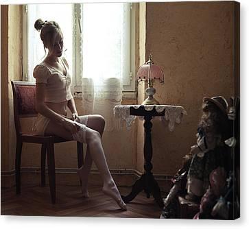 Dressing Room Canvas Print - Mary by Jeremie Mazenq