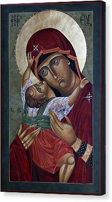 Mary Kadiotissa Canvas Print by Mary jane Miller
