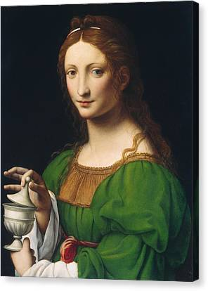 Mary Magdalene Canvas Print by Celestial Images