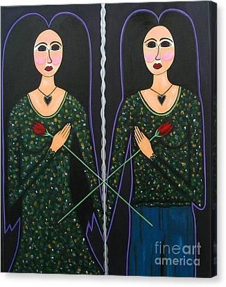Mary Marie Canvas Print