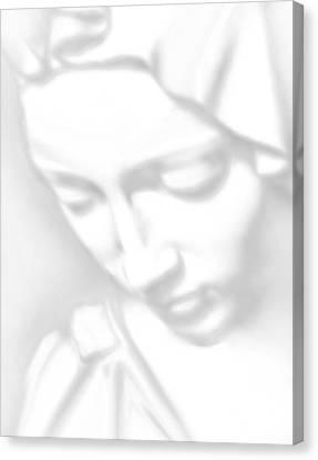 Mary Pieta Canvas Print by Tony Rubino