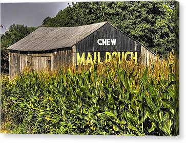 Maryland Country Roads - Mail Pouch No. 1 Canvas Print by Michael Mazaika