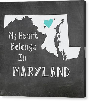 Maryland Canvas Print by Jo Moulton
