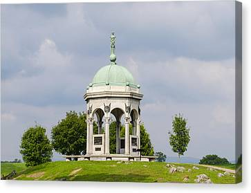 Maryland Monument - Antietam National Battlefield Canvas Print by Bill Cannon
