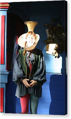Maryland Renaissance Festival - A Fool Named O - 121210 Canvas Print by DC Photographer