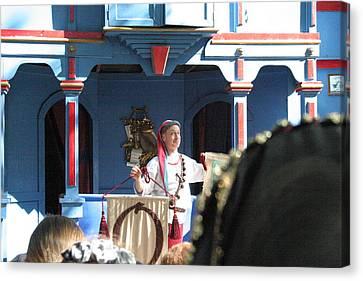 Maryland Renaissance Festival - A Fool Named O - 121224 Canvas Print