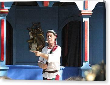 Maryland Renaissance Festival - A Fool Named O - 121227 Canvas Print