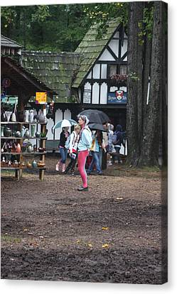 Maryland Renaissance Festival - A Fool Named O - 121231 Canvas Print by DC Photographer