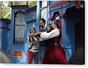 Maryland Renaissance Festival - A Fool Named O - 121237 Canvas Print
