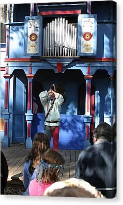 Maryland Renaissance Festival - A Fool Named O - 12124 Canvas Print