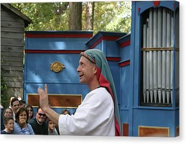 Maryland Renaissance Festival - A Fool Named O - 121240 Canvas Print