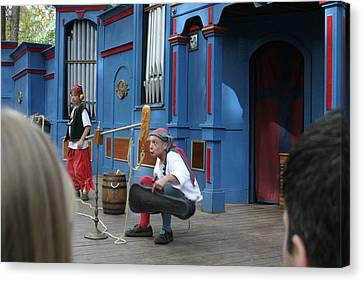 Maryland Renaissance Festival - A Fool Named O - 121250 Canvas Print by DC Photographer