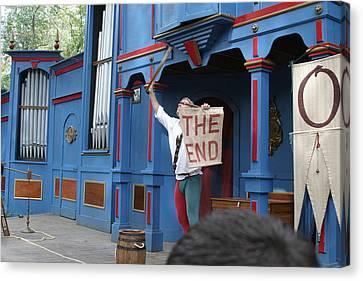 Maryland Renaissance Festival - A Fool Named O - 121260 Canvas Print by DC Photographer