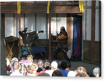 Maryland Renaissance Festival - Hack And Slash - 12127 Canvas Print by DC Photographer