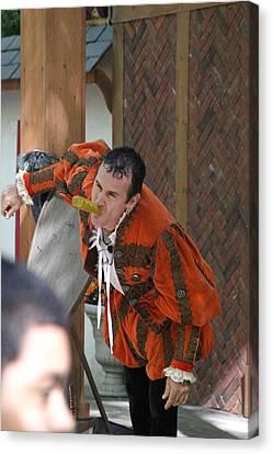 Maryland Renaissance Festival - Johnny Fox Sword Swallower - 121252 Canvas Print
