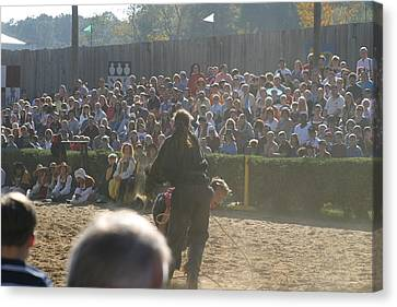 Maryland Renaissance Festival - Jousting And Sword Fighting - 1212114 Canvas Print