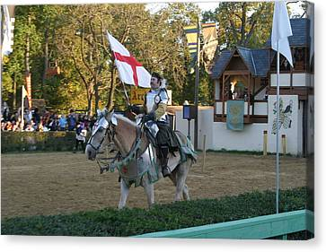 Armor Canvas Print - Maryland Renaissance Festival - Jousting And Sword Fighting - 121213 by DC Photographer