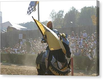 Maryland Renaissance Festival - Jousting And Sword Fighting - 1212135 Canvas Print