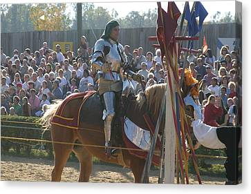 Armor Canvas Print - Maryland Renaissance Festival - Jousting And Sword Fighting - 1212153 by DC Photographer