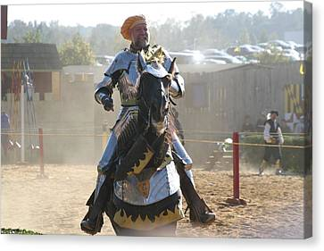 Maryland Renaissance Festival - Jousting And Sword Fighting - 1212163 Canvas Print