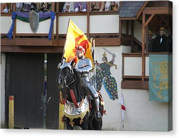 Horse Canvas Print - Maryland Renaissance Festival - Jousting And Sword Fighting - 121219 by DC Photographer