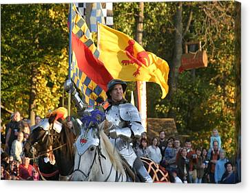 Maryland Renaissance Festival - Jousting And Sword Fighting - 121220 Canvas Print by DC Photographer