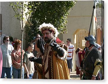 Maryland Renaissance Festival - Kings Entrance - 121211 Canvas Print