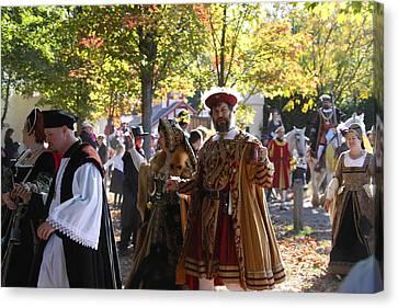 Maryland Renaissance Festival - Kings Entrance - 12124 Canvas Print by DC Photographer