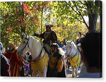 Maryland Renaissance Festival - Kings Entrance - 12126 Canvas Print