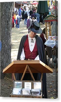Maryland Renaissance Festival - Merchants - 12126 Canvas Print