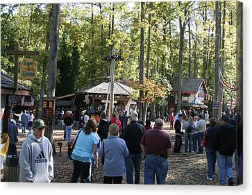 Maryland Renaissance Festival - People - 12121 Canvas Print by DC Photographer