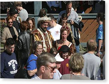 Maryland Renaissance Festival - People - 1212122 Canvas Print