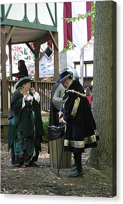 Maryland Renaissance Festival - People - 121215 Canvas Print by DC Photographer