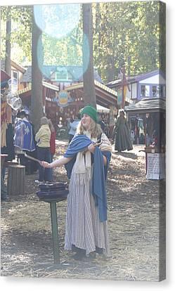 Maryland Renaissance Festival - People - 12122 Canvas Print by DC Photographer