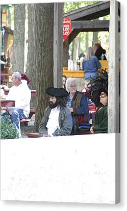 Maryland Renaissance Festival - People - 121220 Canvas Print by DC Photographer