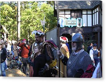 Maryland Renaissance Festival - People - 121232 Canvas Print