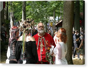 Maryland Renaissance Festival - People - 121261 Canvas Print