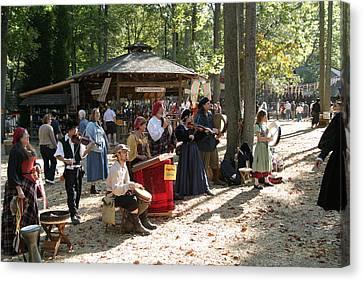 Maryland Renaissance Festival - People - 121264 Canvas Print by DC Photographer