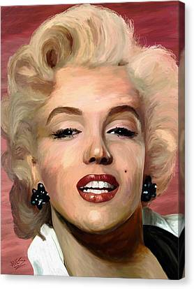 Marylin Monroe Canvas Print