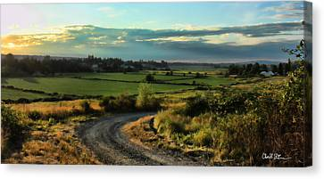 Marysville Valley Canvas Print by Charlie Duncan