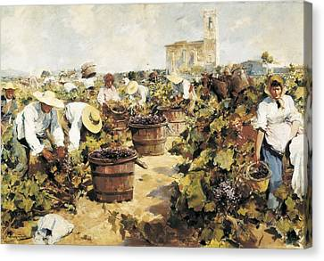 Mas I Fondevila, Arcadi 1852-1934. The Canvas Print